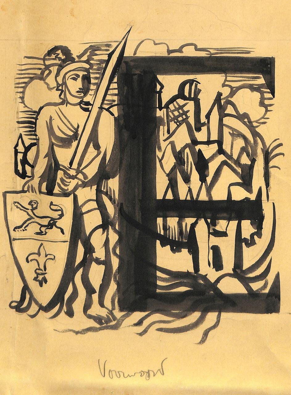 Ontwerpen voor het 'Gedenkboek Roermond 1232-1932'