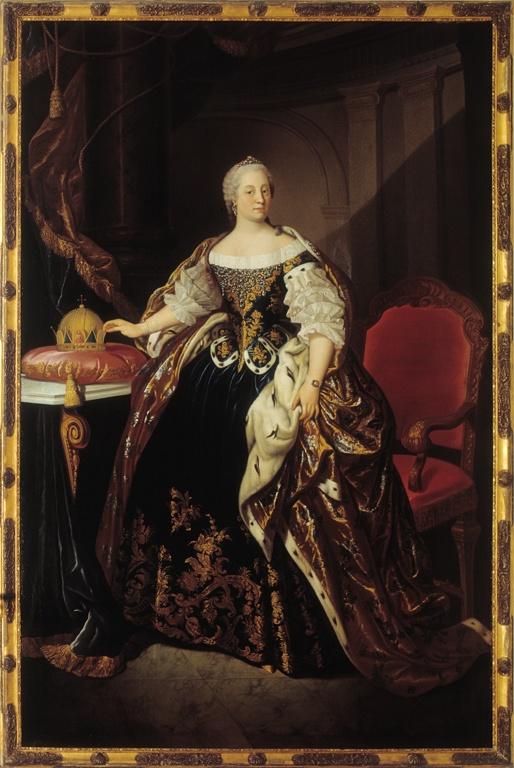 Portret van keizerin Maria Theresia
