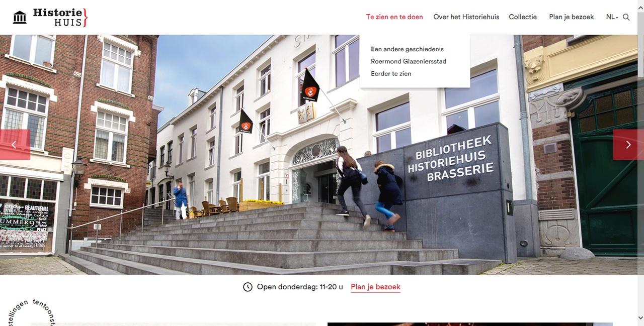 stedelijk historisch museum roermond nieuwe site