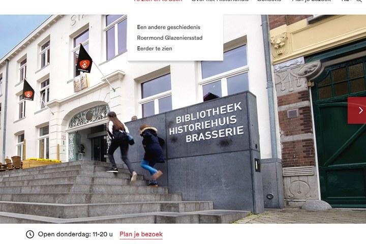 Nieuwe Historiehuis-site
