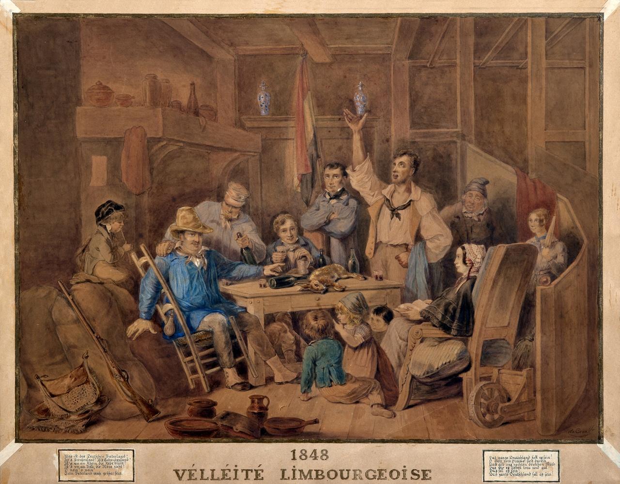 stedelijk historisch museum spotprent limburgse separatisten