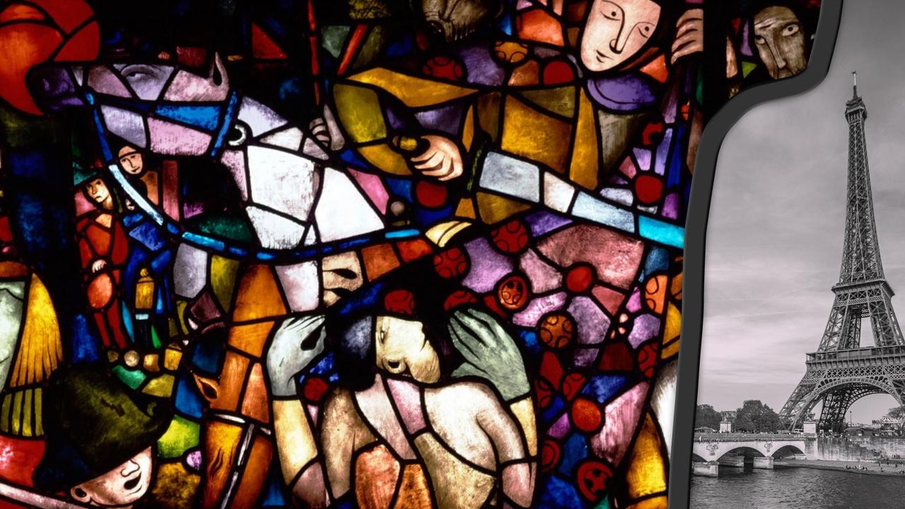 stedelijk historisch museum gebrandschilderd glas parijs